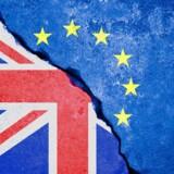Briterne har sat Brexit i værk. Foto: Iris