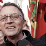 Anders Bondo Christensen tirsdag aften. Forhandlinger i Forligsinstitutionen tirsdag den 24. April 2018. (Foto: Martin Sylvest/Scanpix 2018)