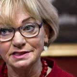 Pia Kjærsgaard afviser fuldstændig kritikken af hendes udtalelse om, at Europa-Parlamentet er en »rotterede«.