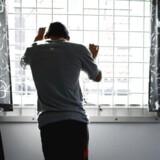 RB PLUS ARKIVFOTO 2010 af fængsel- - Se RB 17/1 2015 11.04. De seneste to år har Kriminalforsorgen fået 39 indberetninger om indsatte, der har vist tegn på radikalisering. (Foto: Jeppe Bøje Nielsen/Scanpix 2012)