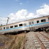 Fire personer er dræbt og mange er sårede i en togulykke i Sydafrikas Free State distrikt. Foto: Iris.