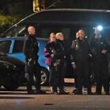 Politiet var massivt til stede på Nørrebro ved Mjølnerparken i forbindelse med nyt skyderi fredag.