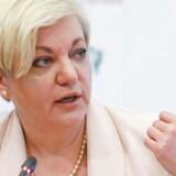 Chefen for Ukraines centralbank, Valeria Gontareva, meddelte onsdag, at hun tager orlov, og at hendes næstkommanderende midlertidigt overtager hendes post.
