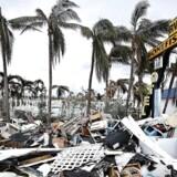Orkaner som Irma forårsagede enorme ødelæggelser i USA i sommer - men de spolerede også de amerikanke beskæftigelsestal