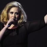 Adele. Arkivfoto.
