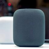 Apple fremviste 5. juni sin HomePod-højttaler med indbygget talegenkendelsessoftware. Men den når ikke julehandelen. Arkivfoto: Josh Edelsen, AFP/Scanpix