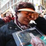 Store protester i Sydkorea, efter afsætningen af præsident Park Geun-hye permanent.