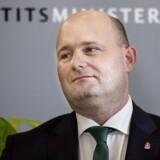 Justitsminister Søren Pape Poulsen (Foto: Liselotte Sabroe/Scanpix 2017)