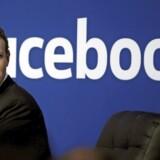 Facebook-grundlægger Mark Zuckerberg under et møde i det sociale netværks californiske hovedkvarter i 2015. Foto: Stephen Lam