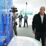Den russiske præsident Vladimir Putin administrerende direktør for Gazprom, Alexei Miller (Arkivbillede) AFP PHOTO / RIA NOVOSTI / POOL / ALEXEY NIKOLSKY