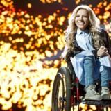 Den russsiske Melodi Grand Prix deltager Julia Samoilova kan komme til at deltage via satellit-forbinbdelse.
