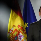 Spaniens premierminister Mariano Rajoy. / AFP PHOTO / EMMANUEL DUNAND