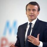 Den franske præsidentkandidat Emmanuel Macron.