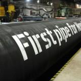 Nord Stream 2 er en planlagt, russisk-ejet gasledning, der skal gå gennem Østersøen.