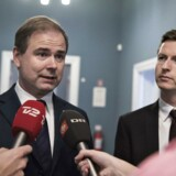 Arkivfoto: Socialdemokraternes Nicolai Wammen og Jesper Petersen (th).