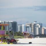 Orkanen Irma ventes at ramme Florida lørdag eller søndag.