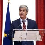 50-årige Mario Centeno er Portugals finansminister. Han er uddannet økonom, og han har været professor i økonomi.