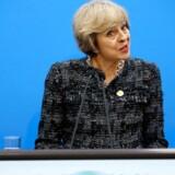 Den britiske premierminister, Theresa May, siger, at et uafhængigt Skotland ikke er ensbetydende med, at skotterne så vil være en del af EU.