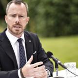 Politisk ordfører Jakob Ellemann-Jensen (V) bliver ny miljø- og fødevareminister.
