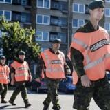ARKIVFOTO: Hjemmeværnet skal have mere militær træning, lyder det fra Claus Hjort Frederiksen (V) og Søren Espersen (DF).