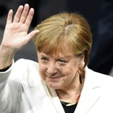 Angela Merkel (CDU) er for fjerde gang valgt som kansler i Tyskland.