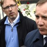 Sveriges statsminister, Stefan Löfven, har det skidt med, at den mistænkte gerningsmand fra lastbilangrebet i Stockholm overhovedet befinder sig i Sverige. Manden er usbeker og har fået afvist sin ansøgning om en opholdstilladelse. (Arkiv) Scanpix/Jonathan Nackstrand