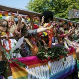 Pride parade 2017 i København