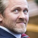 Liberal Alliances formand, Anders Samuelsen, har gjort det til et ultimativt minimumskrav, at regeringen sænker topskatten med fem procentpoint. Foto: Simon Skipper