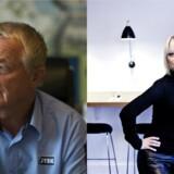 Lars Larsen har overtaget hele Letz Sushi-kæden, efter han en årrække har delt ejerskabet med stifter Louise Ertman Baunsgaard. Foto af: Bo Amstrup (t.v.) og Jeppe Michael Jensen (t.h.)