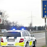 Grænsekontrol ved Padborg.