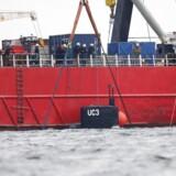 Der er ikke fundet personer i den hævede ubåd - hverken levende eller døde, melder vicepolitiinspektør Jens Møller.