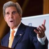 USAs udenrigsminister John Kerry.