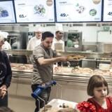 IKEA Taastrups restaurant fik sidste år knap 900.00 besøg. De solgte omkring 2,5 mio. kødboller.