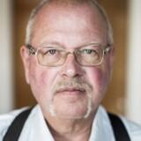 Helmuth Petersen, rådmand for Sverigedemokraterne, i Trelleborg Kommune i Skåne, fotograferet på sit kontor på Trelleborg rådhus.