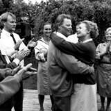 Frits Helmuth og Ghita Nørby i filmen »Dansen med Regitze« fra 1989. Foto: Rolf Konow/Scanpix