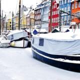 Julefred i Nyhavn.