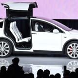Google har allerede lanceret en førerløs bil, og Tesla vil gøre det samme i 2018. Foto: Susana Bates