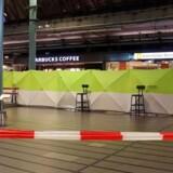 Lufthavnen i Amsterdam, Schiphol, efter en mand fredag eftermiddag blev skudt.