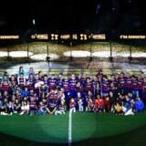 Spiludvikleren fra Frederiksberg, der står bag den kendte skærmtrold Hugo, skal sørge for, at holdets mange fodboldfans kan spille bold på deres mobile enheder med Lionel Messi, Neymar, Luis Suárez og flere af holdets kendte spillere, oplyser selskabet til den norske fondsbørs.