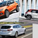 Kandidatlisten til kåringen af Årets Bil 2018 er afsløret - op mod 30 nye bilmodeller er med
