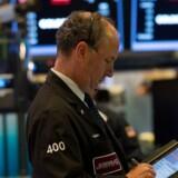 Britiske selskaber tager toppen i positivt marked / AFP PHOTO / Bryan R. Smith