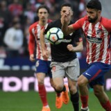 Diego Costa kom på tavlen for Atlético Madrid i søndagens sejr over Athletic Bilbao. Scanpix/Gabriel Bouys