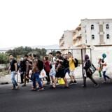 Siden 2011 er 4000 nye virksomheder blevet stiftet af syrere eller syrere med tyrkiske partnere - og antallet stiger. De fleste syriske flygtninge lever uden for flygtningelejrene, nogle i dyb fattigdom, men mange stammer fra middelklassen med egne opsparinger eller mulighed for at låne. Arkivfoto.