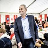ARKIVFOTO: 1. maj 2015. Dennis Kristensen, forbundsformand for FOA, holder 1. maj-tale hos FOA på Frederiksberg.