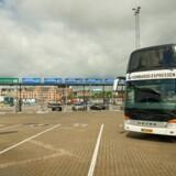 Den nye »Kombardo Express« kører sin første tur lørdag morgen