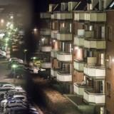 22.06 fik politiet meldinger om skud affyret i Mjølnerparken.