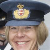 Lone Træholt, der her ses i audiens hos dronningen ved en tidligere lejlighed, bliver Danmarks første kvindelige general. Scanpix/Bjarne Lüthcke