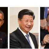 Obama var den gode, Xi den onde og Putin den sjove, da de tre statsledere mandag skrev sig ind plottet til FNs generalforsamling nummer 70.