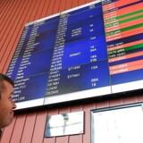 SAS håber på aftale, så de svenske piloter genoptager arbejdet. Endnu ingen information om aflysninger mandag.