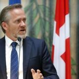 Udenrigsminister Anders Samuelsen (LA) udtaler, at »der kommer et maskeringsforbud i Danmark - og Liberal Alliance stemmer for.«